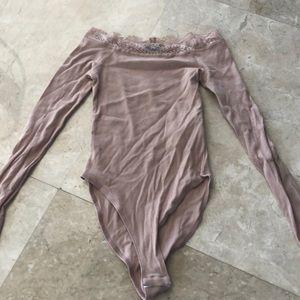 Other - light pink bodysuit